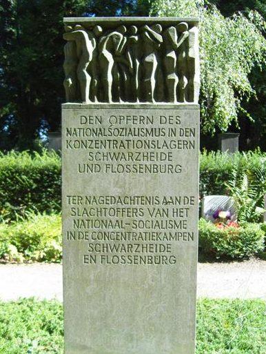 г. Дрезден-Толкевиц. Памятник жертвам концентрационных лагерей Шварцхайде и Флоссенбюрга.