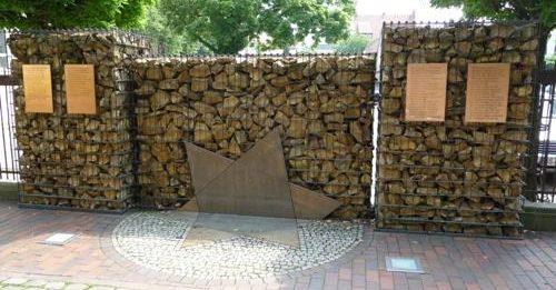 г. Оснабрюк. Памятник жертвам Холокоста.