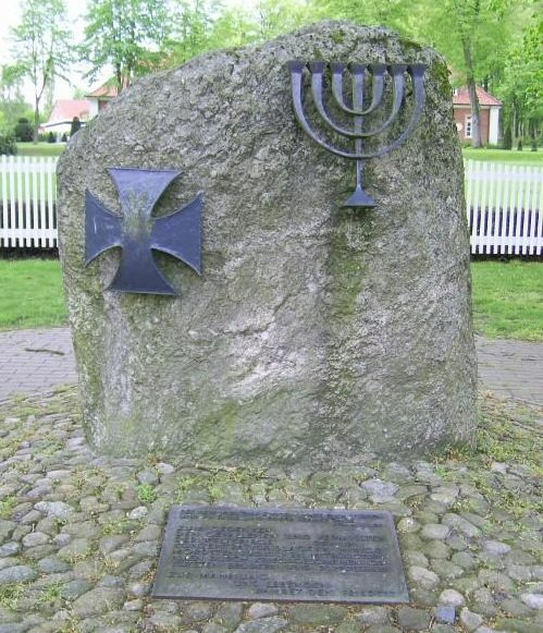Коммуна Сёгель. Памятник жертвам Холокоста.