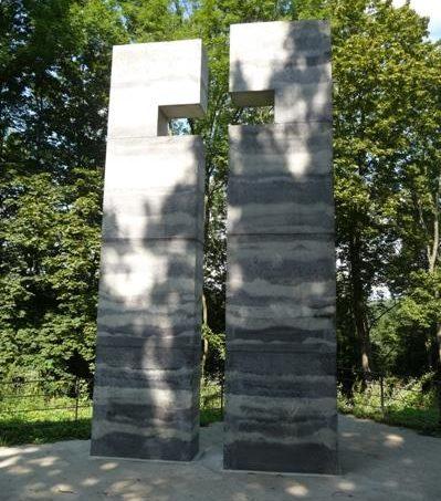 г. Пирна. Памятник жертвам эвтаназии из концлагерей Бухенвальда, Освенцима и Заксенхаузена.