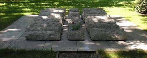 г. Гамбург-Нойенгамме. Памятник посвящен 6 тысячам депортированных поляков.