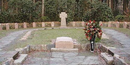 д. Эллербрух. Воинское кладбище, где захоронено 53 немецких солдата, погибших в годы Второй мировой войны.