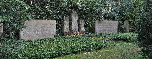 г. Гамбург Вольдорф-Олстедт. Памятник землякам, погибшим во время обеих мировых войн.