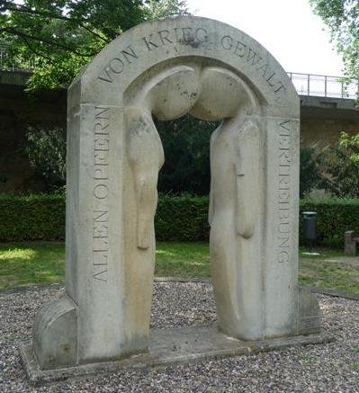 г. Пирна. Памятник жертвам войны и насилия.