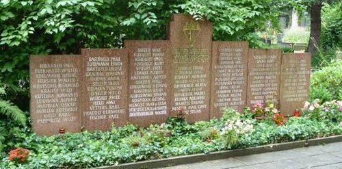 г. Радеберг. Памятник борцам Сопротивления.