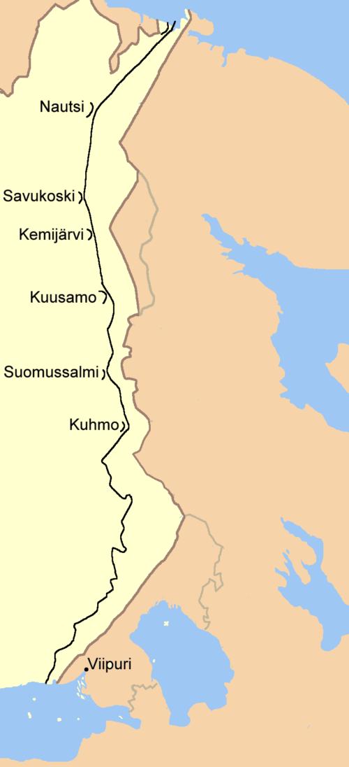 Карта-схема линии.