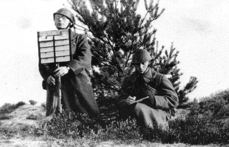 Сигнальщики Королевской армии. 1939 г.