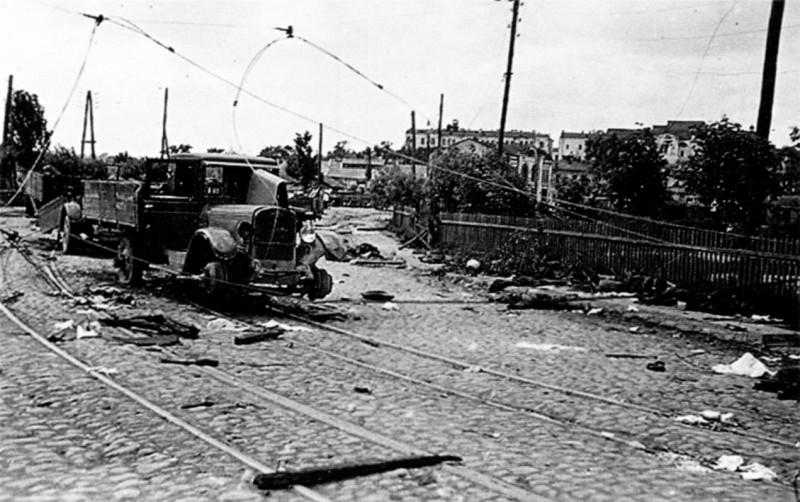 Замостье. Июль 1941 г.