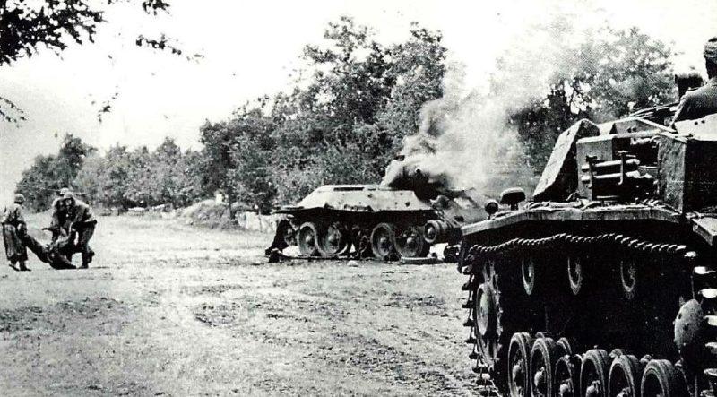 Бои за Мелитополь. 7 октября 1941 г.