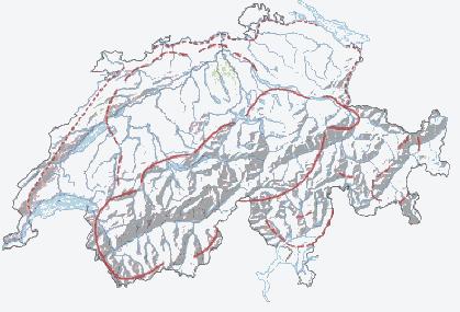 План оборонительных линий Национального редута.