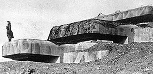 Командный бункер типа M157 во время войны и сегодня.