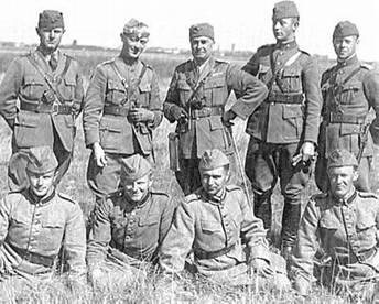 Вооруженные силы Дании на маневрах. 1939 г.