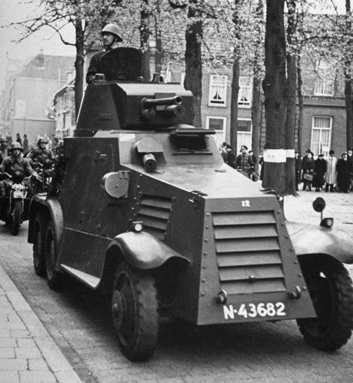 Голландский бронеавтомобиль «Ландсверк М38».