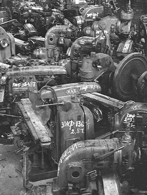 Немецкие станки, полученные по репарациям.