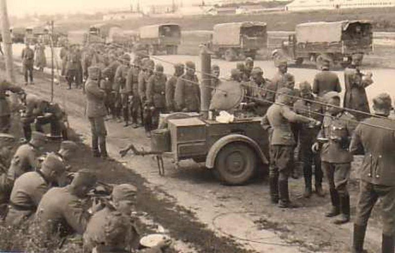 Немецкая полевая кухня. Июль 1941 г.