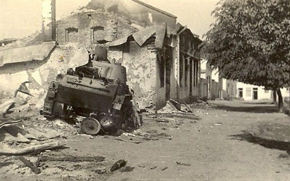 После ухода Красной Армии. 24 июля 1941 г.