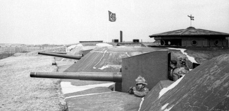 Немецкие парашютисты заняли датский форт Маснедо. 9 апреля 1940 г.