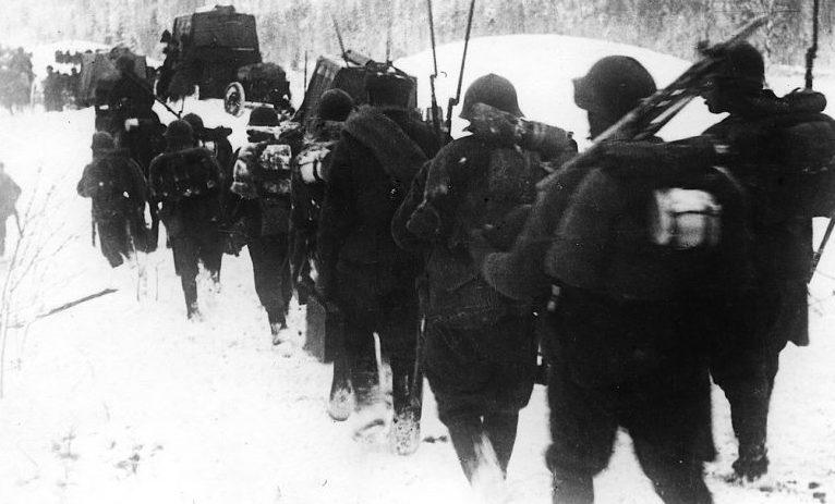 Советское наступление. Ноябрь 1939 г.