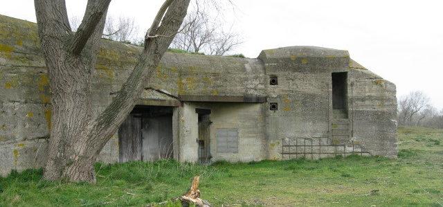 Останки бункеров сегодня.