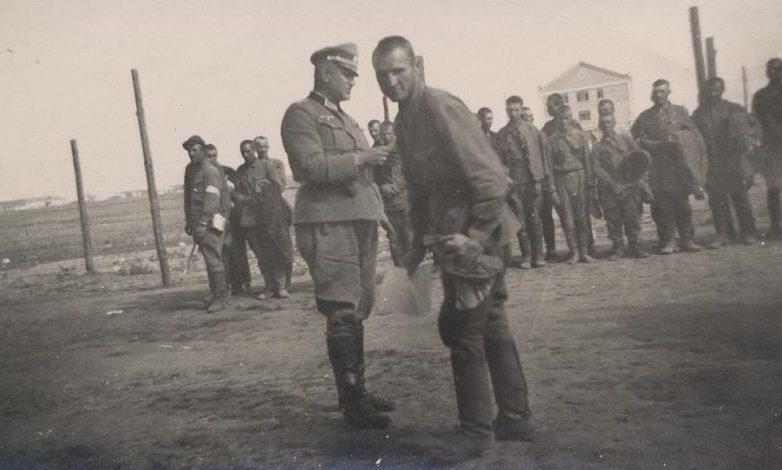 Пленные красноармейцы. Август 1941 г.