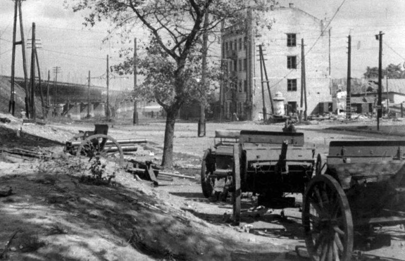 Улица Пастера. Октябрь 1941 г.