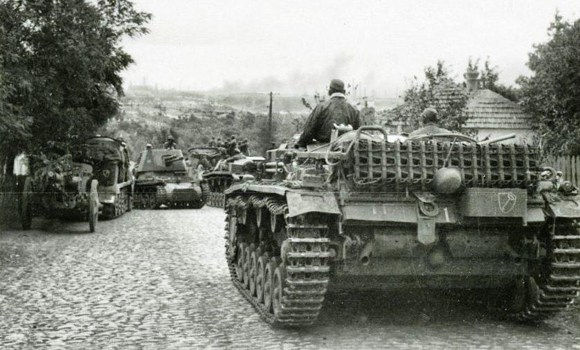 Немцы в Портовском районе. 8 октября 1941 г.