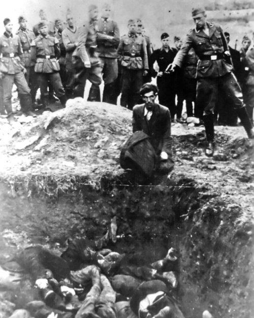 Расстрел евреев. Август 1941 г.
