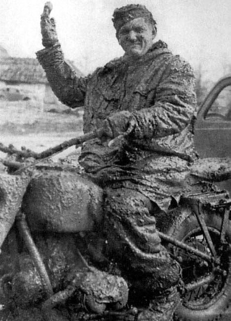 Лечебная грязь на Восточном фронте.