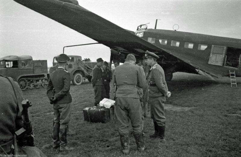Винницкий военный аэродром. Август 1941 г.