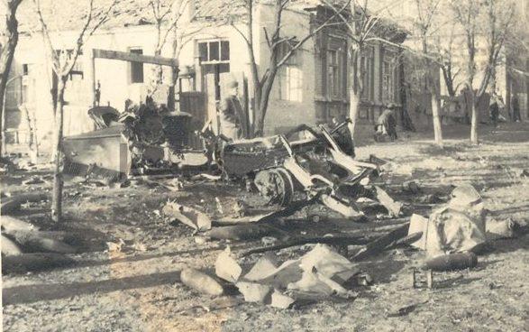Улица Артема. 8 октября 1941 г.
