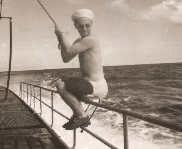 «Навесной унитаз» на немецкой подлодке «U-129». Лучше чем «био». 1942 г.