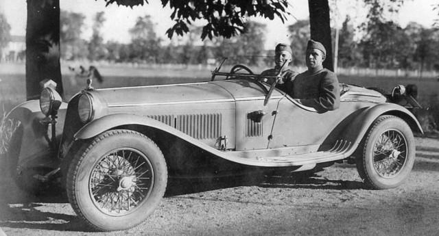 Командирский автомобиль - родстер «Альфа-Ромео 6С». 1939 г.
