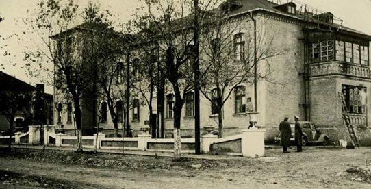 Гестапо в школе на ул. Волоколамская, 12. Октябрь 1941 г.