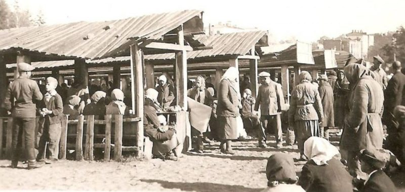 Базар «Калича». Август 1941 г.