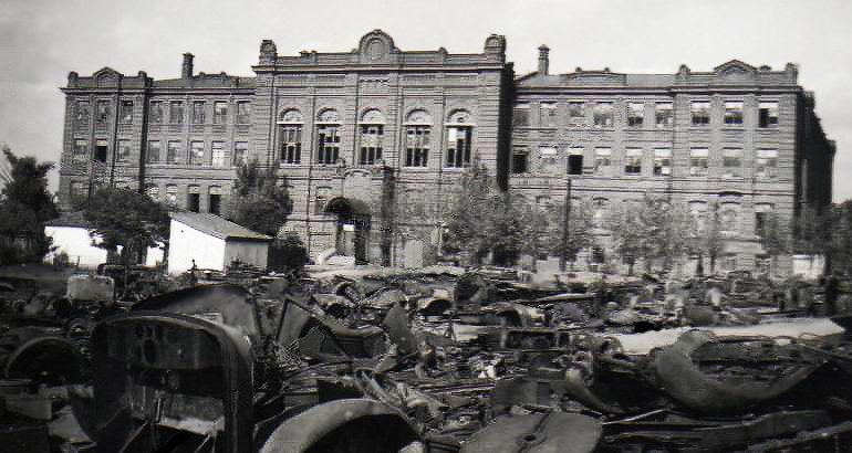 Металлургический институт. Октябрь 1941 г.