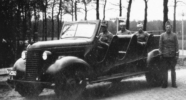 Армейский лёгкий автомобиль-тягач «Шевроле» PAG. 1939 г.