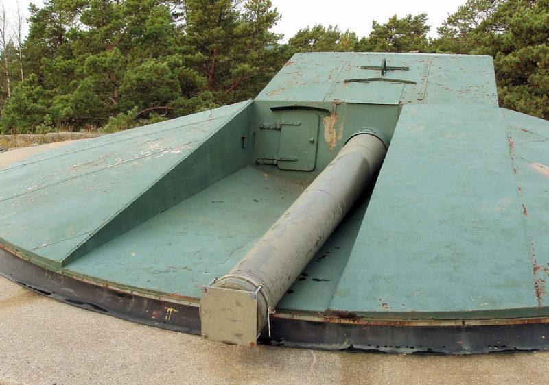 152-мм орудие батареи «Korso».