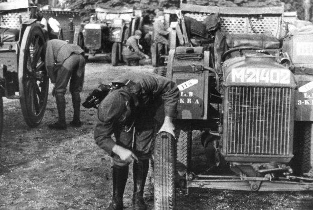 «Фордзоны» в Королевской армии. 1939 г.