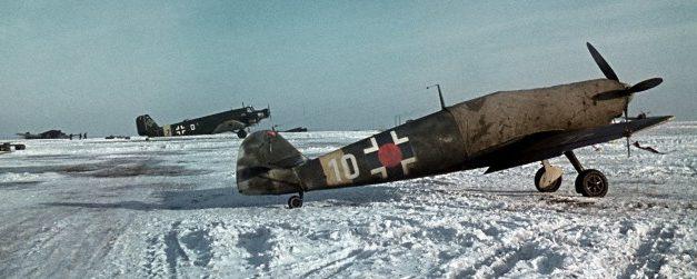 Днепропетровский военный аэродром. Январь 1942 г.