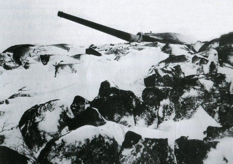 152-мм орудие в годы войны и сегодня.