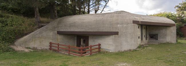 Бункер типа 631 батареи 150-мм орудий.