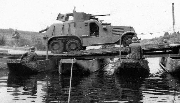 Бронеавтомобиль «Landsverk М36». 1939 г.
