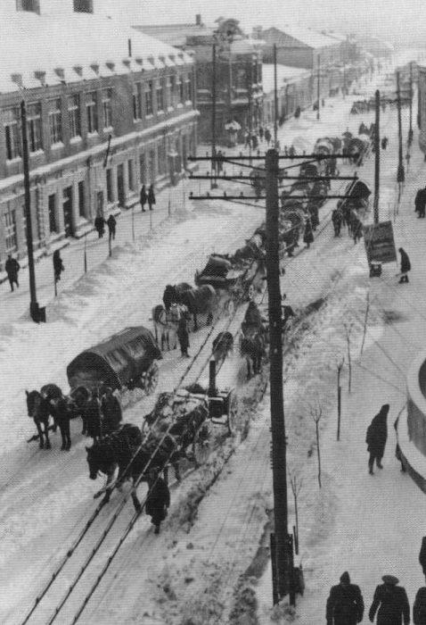 Улица Карла Маркса. Февраль 1942 года.