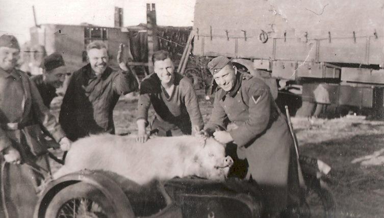 Ускоренная заготовка «шпика». Украина. 1943 г.