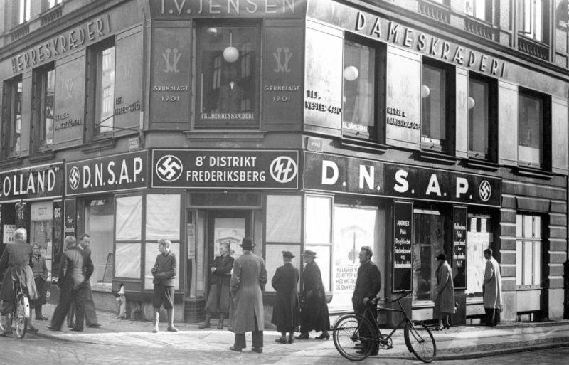 Районный офис DNSAP в Копенгагене. 1941 г.
