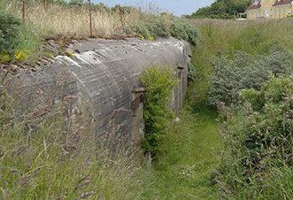 Остатки вспомогательного бункера сегодня.