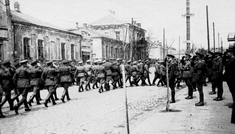 Празднование 1 мая. 1942 г.