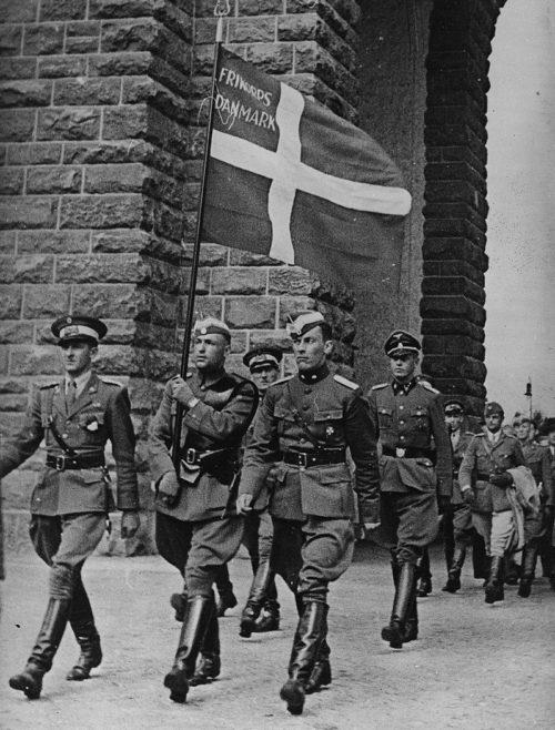 Свободный Корпус Дании в Берлине. 1941 г.