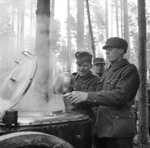 Финская полевая кухня. Ноябрь 1939 г.