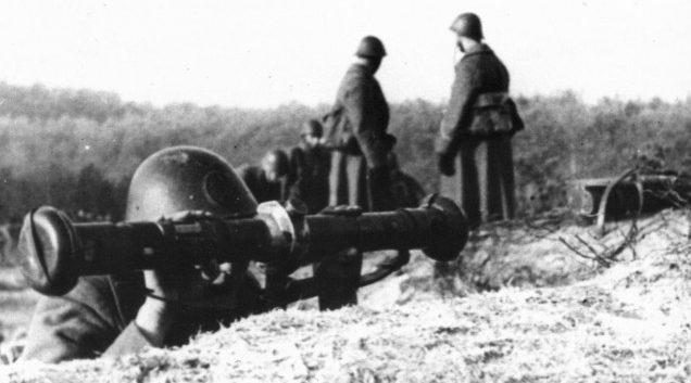Дальномерщик полевой артиллерии. 1939 г.
